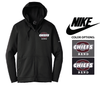 NIKE THERMA FIT FULL ZIP FLEECE HOOD