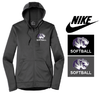NIKE THERMA FIT FULL ZIP FLEECE HOOD - WOMEN'S