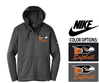NIKE THERMA FIT FULL ZIP HOODED FLEECE - MEN'S