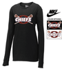 NIKE WOMEN'S CORE COTTON LONG SLEEVE TEE