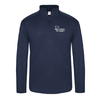 LIGHT WEIGHT TECH 1/4 ZIP PULLOVER