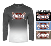 OMBRE PERFORMANCE LONG SLEEVE TEE - ADULT & YOUTH