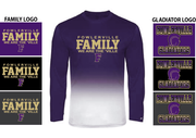 OMBRE PERFORMANCE LONG SLEEVE TEE - YOUTH & ADULT
