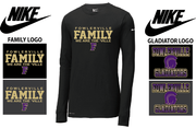 NIKE DRI-FIT LONG SLEEVE TEE - ADULT ONLY