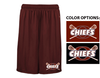PERFORMANCE SHORTS W / POCKETS - ADULT& YOUTH