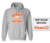 PLAYER HOODED SWEATSHIRT