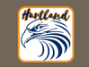 HARTLAND EAGLE WINDOW DECAL