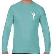 PREMIER LONG SLEEVE TEE - MINT   ADULT ONLY