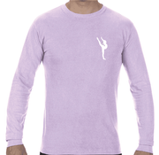 PREMIER LONG SLEEVE TEE - ORCHID   ADULT ONLY