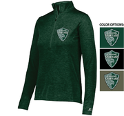 RUSSELL ATHLETIC 1/4 ZIP PULLOVER - WOMEN'S