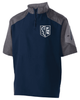SHORT SLEEVE 1/4 ZIP PULLOVER JACKET