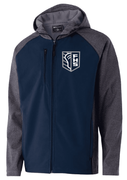 SOFT SHELL FULL ZIP JACKET WITH HOOD