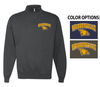 SPARTAN BASIC 1/4 ZIP CREW SWEATSHIRT - ADULT ONLY