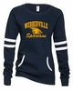 SPARTANS GAME DAY CREW SWEATSHIRT - GLITTER PRINT