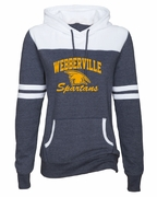 SPARTANS WOMEN'S GAME DAY HOODIE - GLITTER PRINT