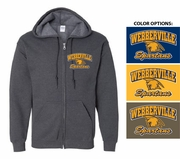 SPARTANS ZIP HOOD - YOUTH & ADULT