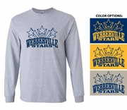 STARS LONG SLEEVE TEE - YOUTH & ADULT