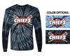 TIE DYE LONG SLEEVE T-SHIRT