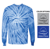 TIE DYE LONG SLEEVE T-SHIRT - ADULT &  YOUTH