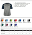 TONAL BLEND PERFORMANCE TEE - ADULT & YOUTH