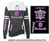 WOMEN'S GAME DAY HOODIE WITH GLITTER PRINT