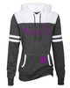 WOMEN'S GAME DAY HOODIE W/ FOIL PRINT