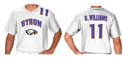 WHITE PLAYER JERSEY