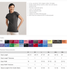 WOMEN'S FITTED BASIC T-SHIRT