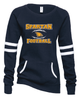 WOMEN'S FOOTBALL CREW NECK SWEATSHIRT