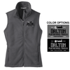WOMEN'S FULL ZIP FLEECE VEST