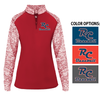 WOMEN'S LIGHT WT 1/4 ZIP PULLOVER