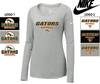 NIKE COTTON CORE LONG SLEEVE T-SHIRT - WOMEN'S