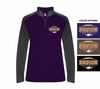 WOMEN'S LIGHT WEIGHT 1/4 ZIP