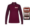 WOMEN'S LIGHT WEIGHT 1/4 ZIP PULLOVER