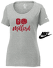"WOMEN'S NIKE CORE COTTON ""GO MILFORD"" T-SHIRT"