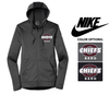 WOMEN'S NIKE THERMA FIT FULL ZIP FLEECE HOOD