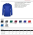 OMBRE HOODED LONG SLEEVE T-SHIRT