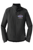 "WOMEN'S ""THE NORTH FACE"" FULL ZIP SOFT SHELL JACKET"