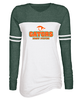 WOMEN'S GAME DAY LONG SLEEVE T-SHIRT - GLITTER PRINT