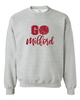 """GO MILFORD"" BASIC CREW NECK SWEATSHIRT"