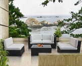 Camfora Outdoor 5 Piece Sectional Set by Modway MY-EEI694