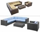 Corona Outdoor Sectional Set  by Modway MY-EEI606