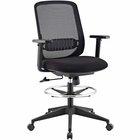 Modway Acclaim Mesh Mesh Drafting Chair in Black MY-EEI-2862-BLK