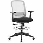 Modway Acclaim Mesh Mesh Drafting Chair in Gray MY-EEI-2862-GRY