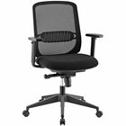 Modway Acclaim Mid Back Mesh Office Chair in Black MY-EEI-2856-BLK