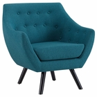 Modway Allegory Upholstered Fabric Armchair in Teal MY-EEI-2549-TEA