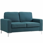 Modway Allure Upholstered Sofa in Blue MY-EEI-2777-BLU