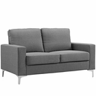 Modway Allure Upholstered Sofa in Gray MY-EEI-2777-GRY