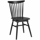 Modway Amble Dining Elm Wood Side Chair in Black MY-EEI-1539-BLK