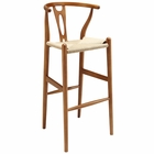 Modway Amish Beech Wood Bar Stool in Walnut MY-EEI-1079-WAL